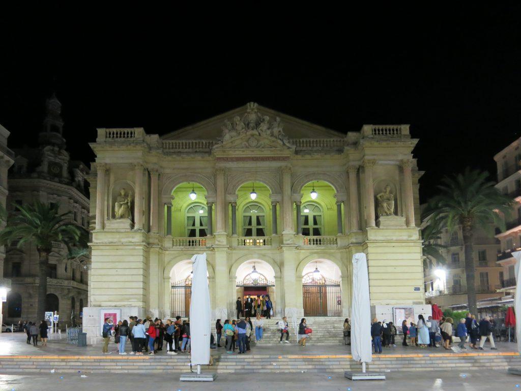 Fassade der Opéra de Toulon